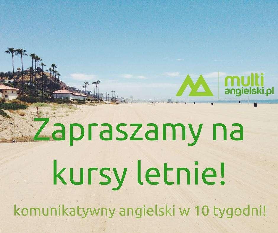 Zapraszamy na kursy letnie! Komunikatywny angielski w 10 tygodni