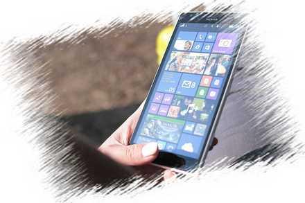 Smartfon z aplikacjami do nauki angielskiego
