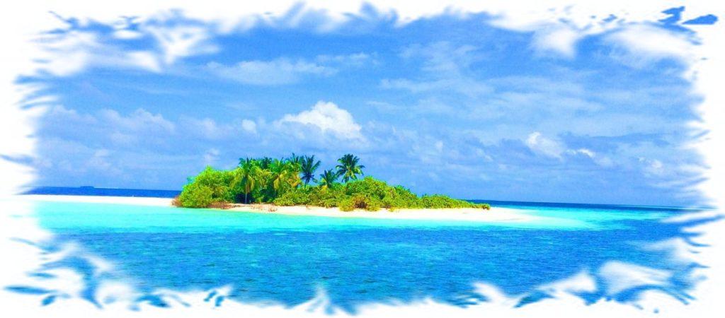 Wakacyjna wyspa; Angielski na wakacjach- niezbędnik językowy